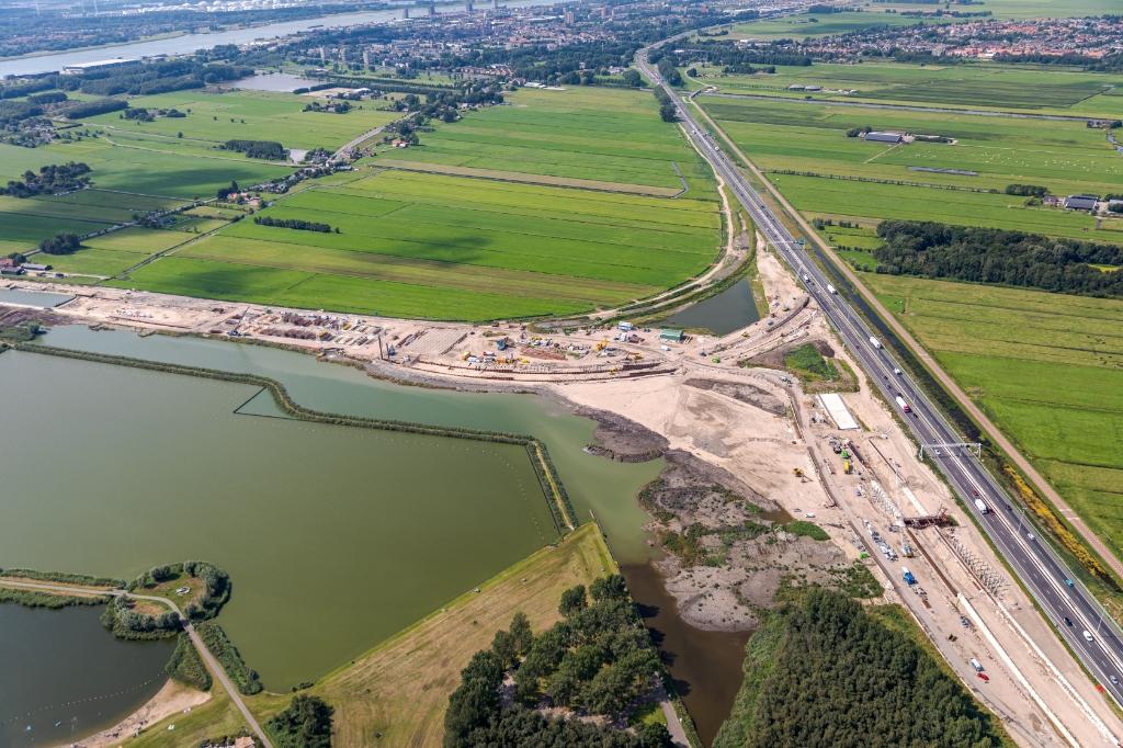 Knooppunt Vlaardingen. Foto: Rijkswaterstaat. Rijkswaterstaat © GrootHellevoet.nl