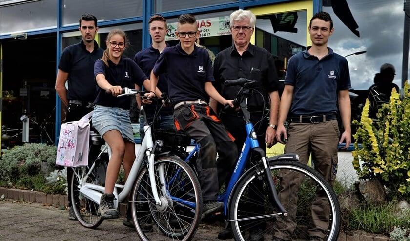 <p>Het team van Jonas Puttershoek. (foto: CN Fotografie)</p>