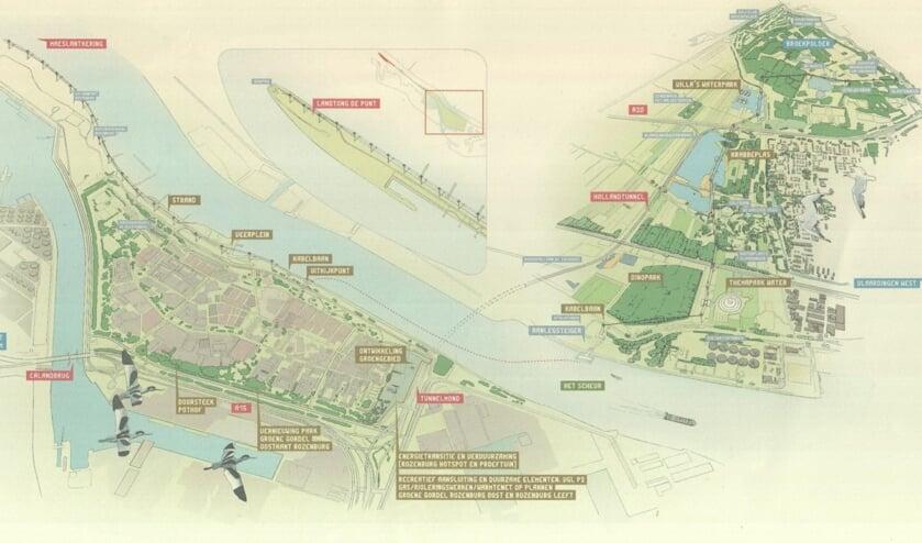 <p>Aan beide kanten van Het Scheur komt een &#39;Nieuw Waterland&#39;.</p>