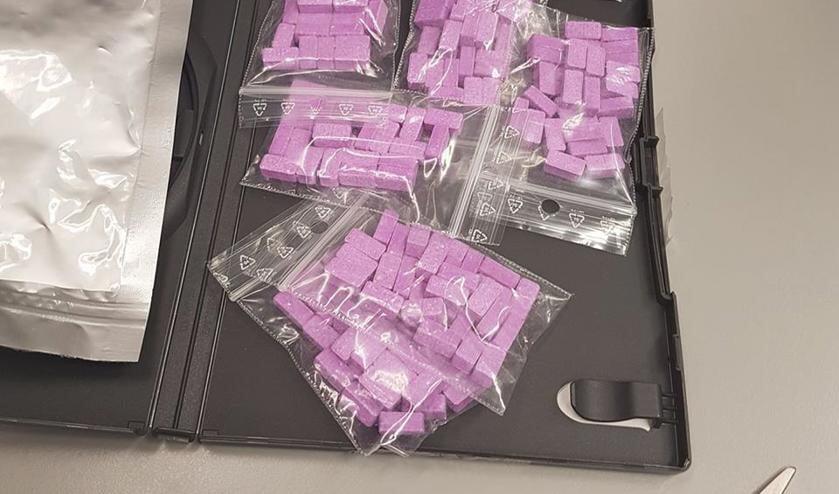 De gevonden XTC-pillen