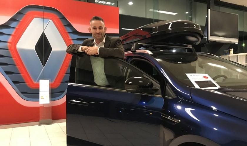 Verkoopleider Vincent de Klerk van Auto Indumij Etten-Leur.