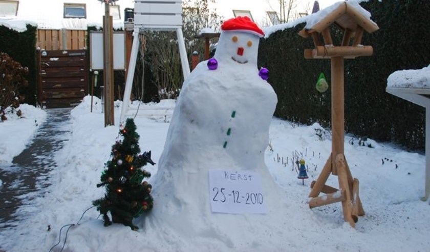 De laatste witte Kerst dateert alweer van 2010.