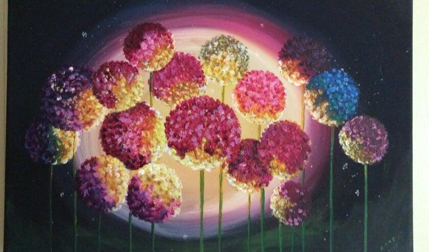 Schilderij van Annie van Hees