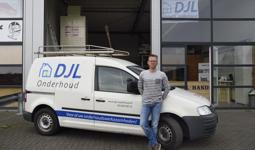 Dirk Jan Lukasse is sinds kort zelfstandig ondernemer. FOTO BENNIE KRAJENBRINK