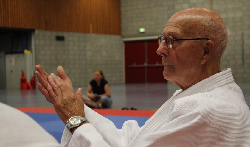 De 82-jarige Piet Delhez.