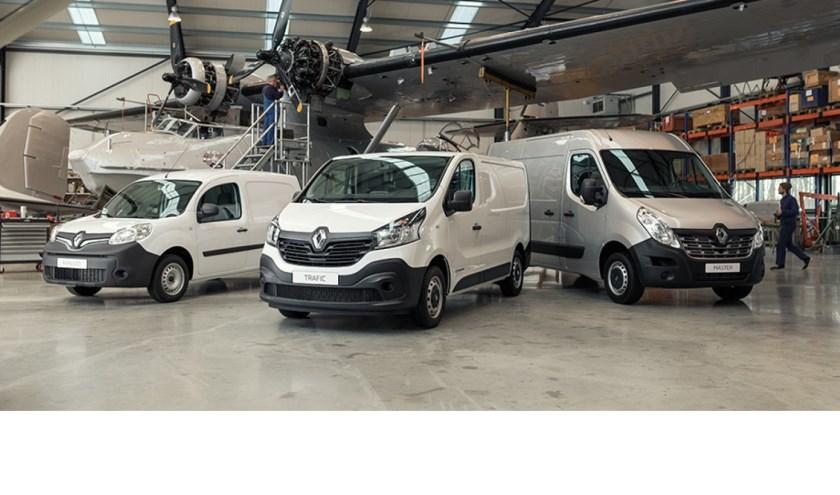 Renault bedrijfswagen Auto Indumij.
