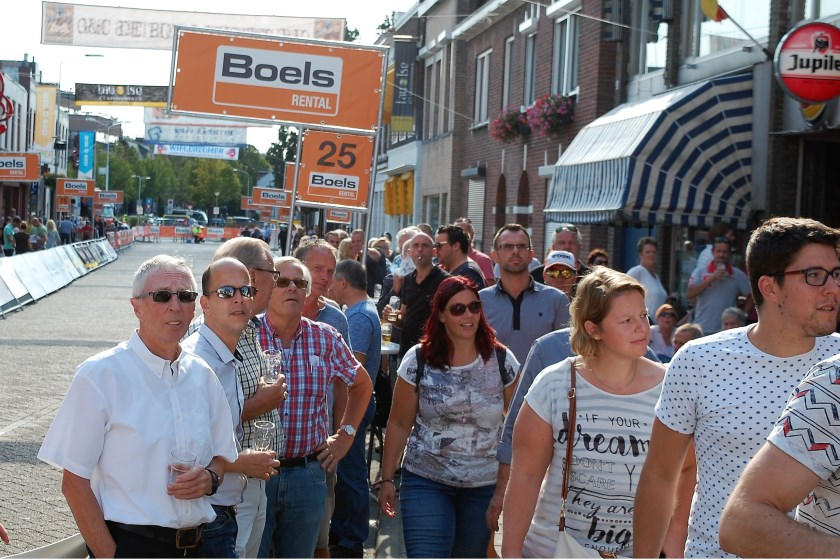 De Boels Ladiestour trok veel publiek.