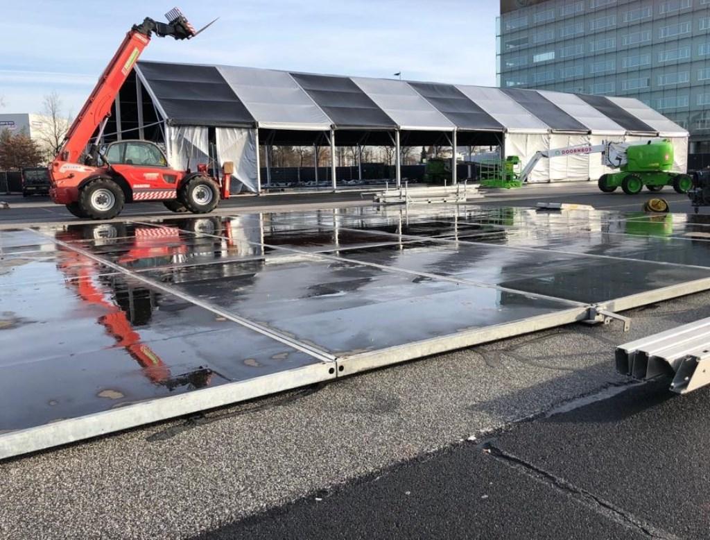 Opbouw Ploegendienst 2019. Foto: Robbert Temmen © BredaVandaag