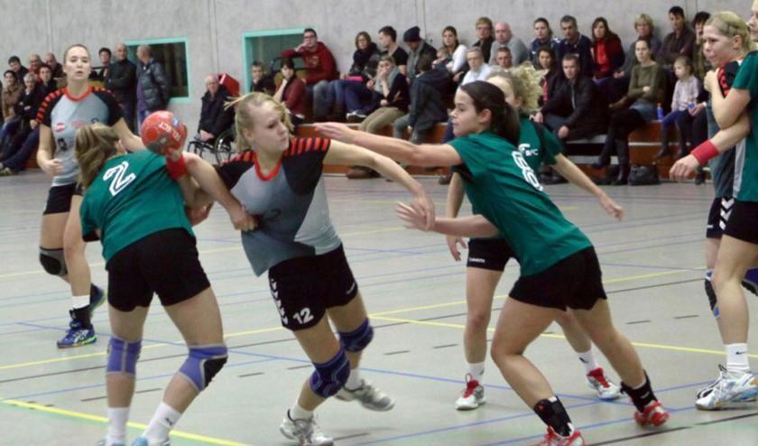 Handbal in de Haagse Beemden.