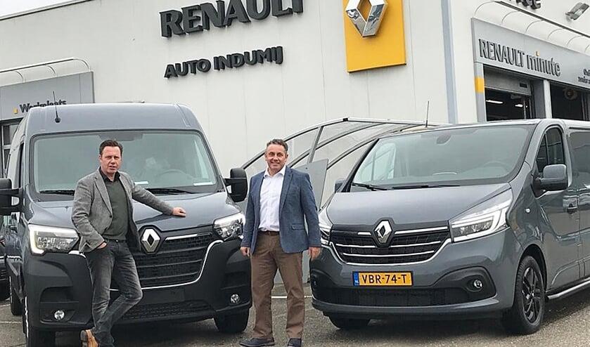 Marcel Nederveen en Leon van de Merbel, dé specialisten op het gebied van bedrijfsauto's.