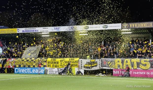 Het duel tussen de twee Brabantse ploegen eindigde in 2-2 Foto: Peter Visser © BredaVandaag