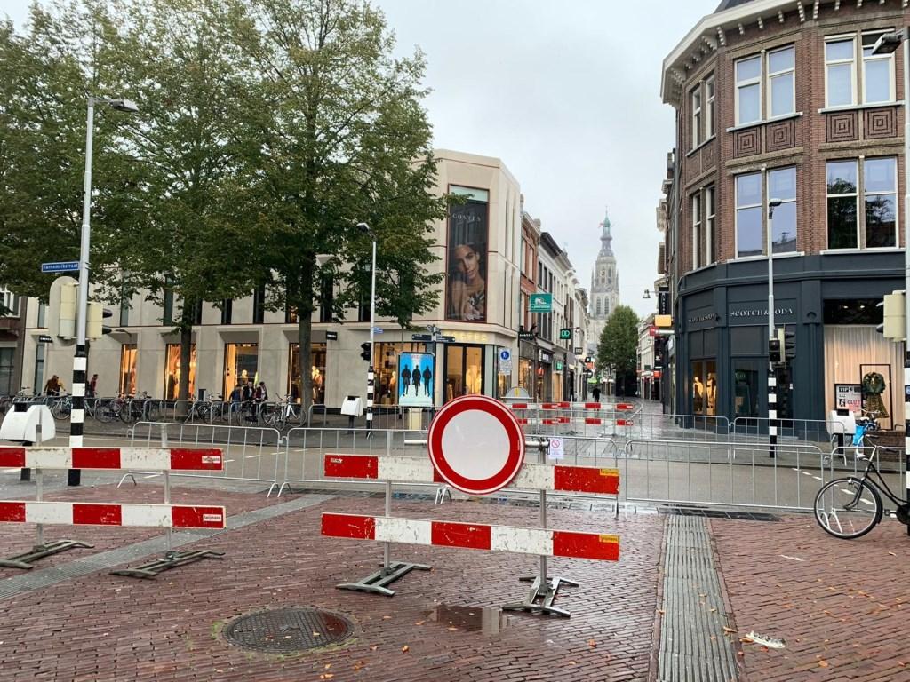 De straten zijn er klaar voor.  Foto: Wesley van der Linde/GroenNieuws.nl © BredaVandaag