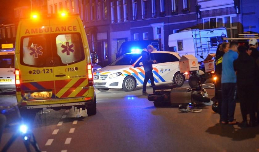 De politie en ambulance kwamen met spoed ter plekke.