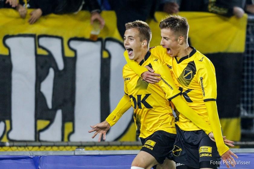 NAC won thuis met 2-1 van het Kralingse Excelsior.