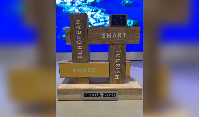 De award die Breda mee naar huis mocht nemen.