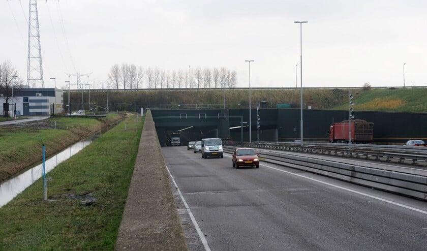 De Vlaketunnel gaat drie nachten dicht voor al het verkeer.