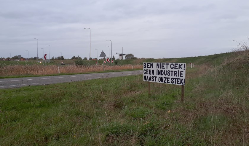In en om Nieuw- en Sint Joosland zijn verschillende actieborden te vinden.