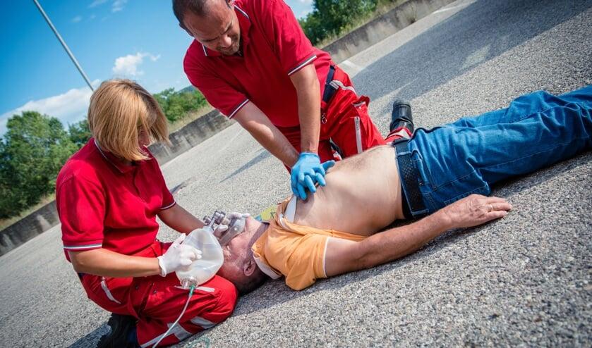 Inwoners van de gemeente Woensdrecht kunnen gratis naar reanimatiecursus. FOTO SHUTTERSTOCK