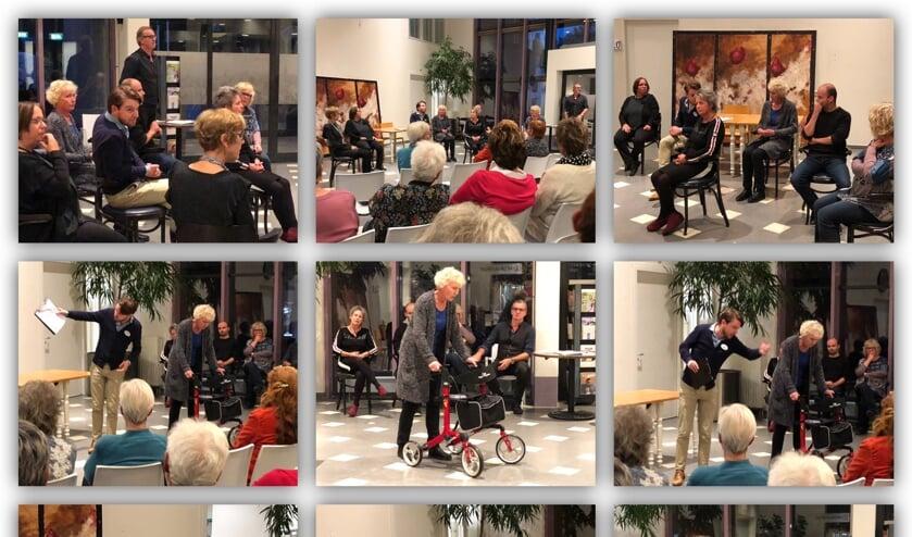 Wijktheater Zeeland speelt situaties uit het dagelijks leven na.