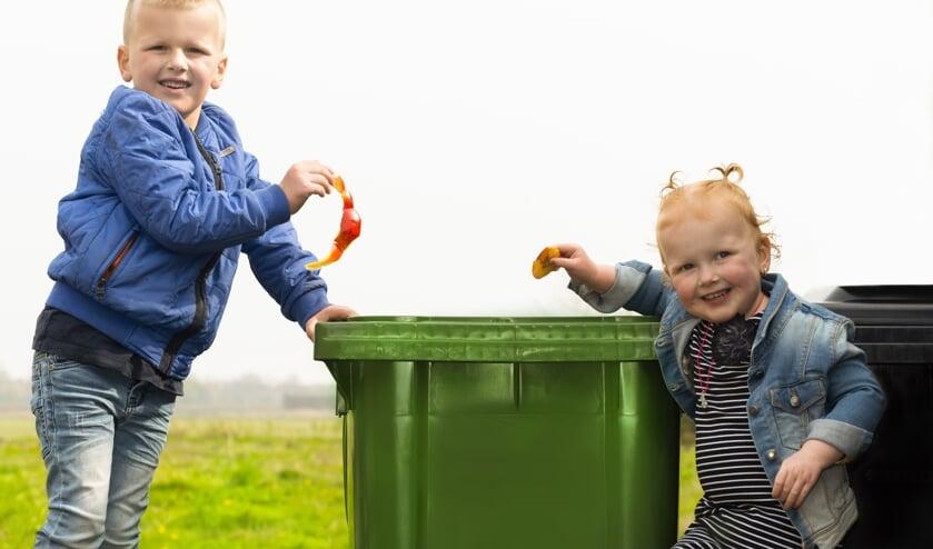 Wie wil weten wanneer je welk afval buiten kunt zetten kan op de app van Saver kijken. FOTO TINEKE VAN DER VEN