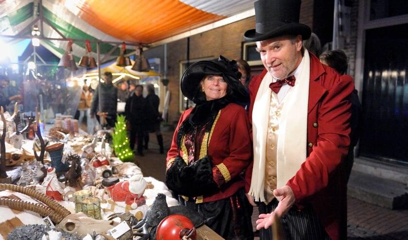 Het is gezelligheid troef tijdens de jaarlijkse winterfair in Arnemuiden.