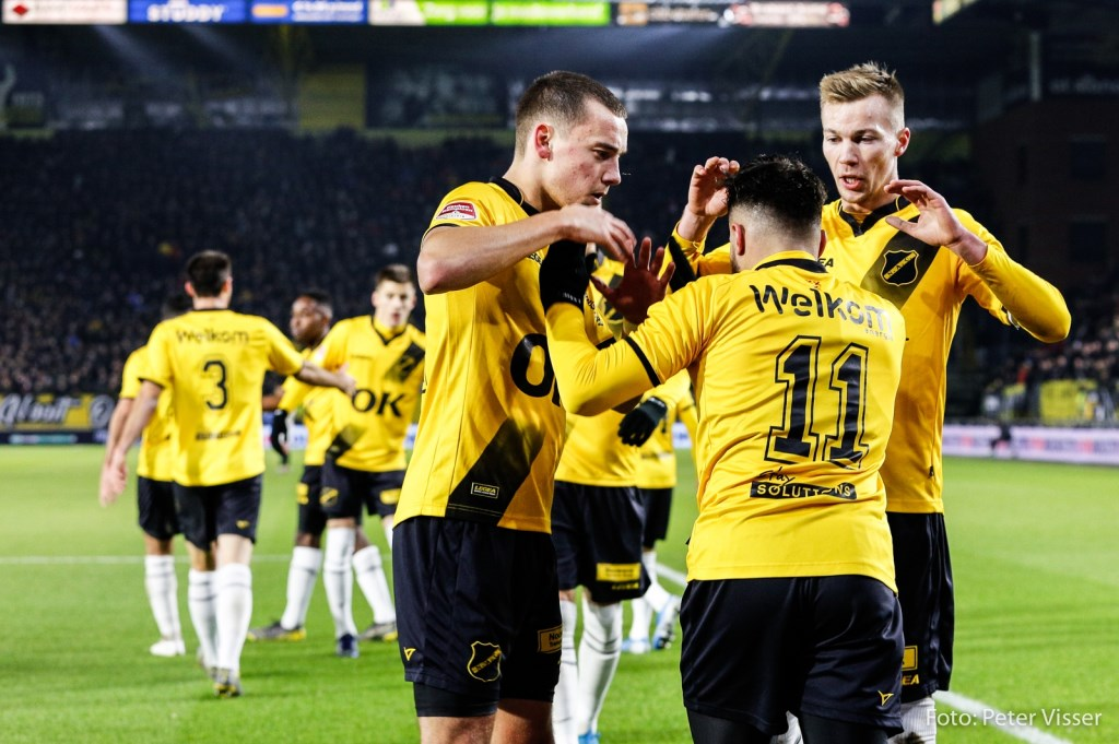 NAC verloor met 1-2 van Jong Ajax.  Foto: Peter Visser © BredaVandaag
