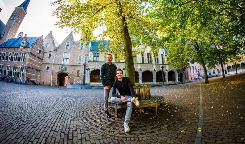 Bas van de Kruisweg en Jordi van der Meijden van Klus met Plus.