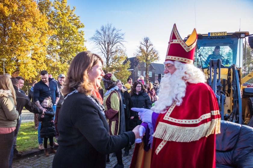 Sinterklaas is aangekomen in Klein Zundert.