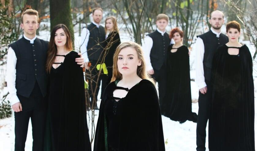 Een deel van het befaamde koor uit Ierland. FOTO ANUNA