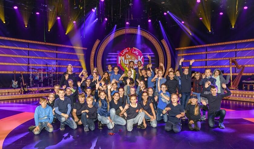 De Stappen is door naar de halve finale van de Lang Leve de Muziek Show. FOTO AMY VAN LEIDEN