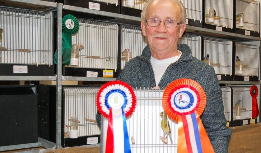 Winnaar Bondskruis Peter den Braber.