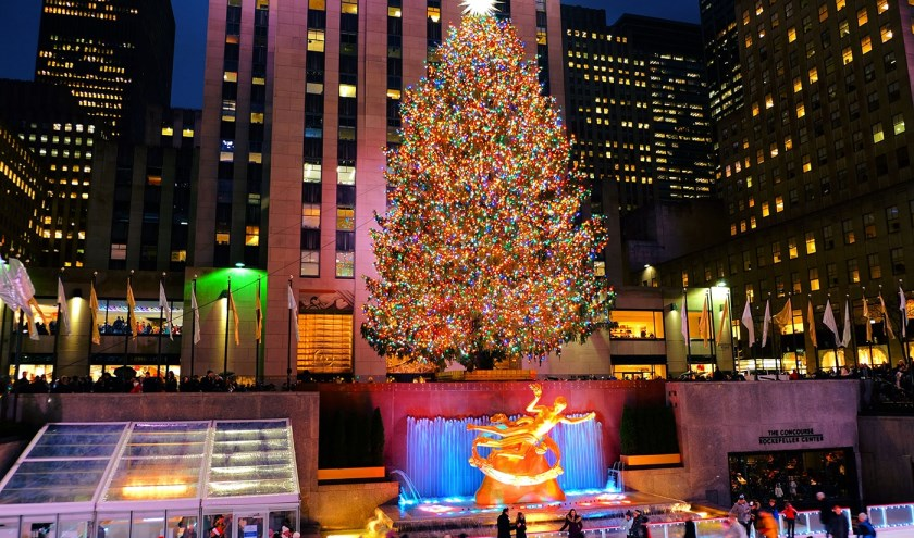 Kerstboom New York.