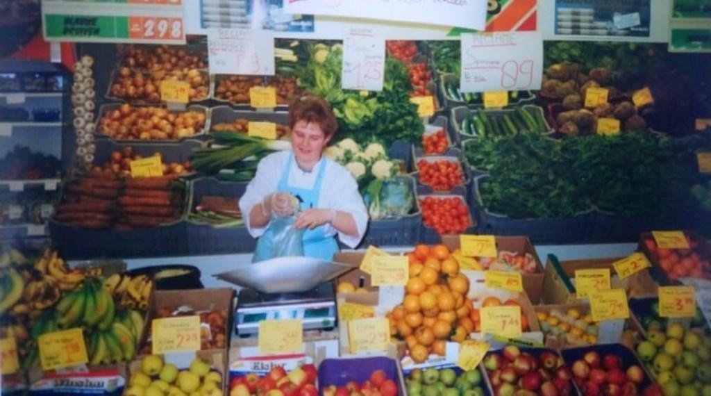 Aan het werk in de supermarkt.  © Internetbode