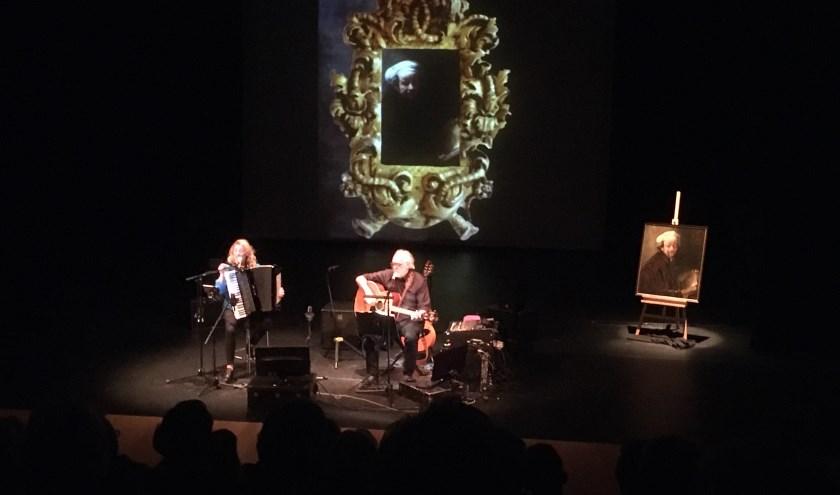 (Lokale) kunst staat centraal tijdens de voorstelling van Hans Visser en Irena Filippova.