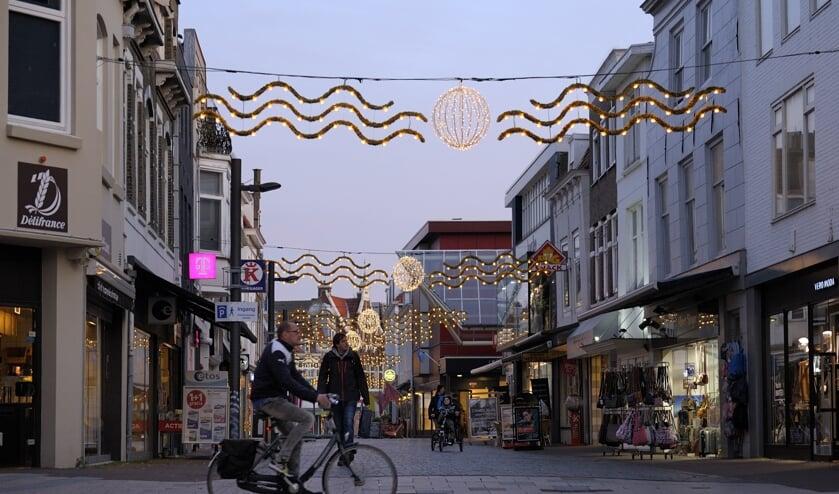 De winkels in de Walstraat.