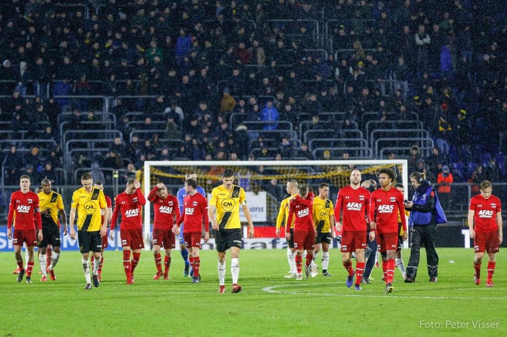 NAC wordt met 0-3 verslagen door AZ. Foto: Peter Visser © BredaVandaag