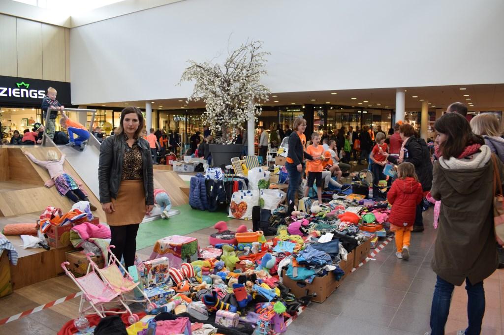 Kinderplein in overdekt winkelcentrum. FOTO STELLA MARIJNISSEN  © Internetbode