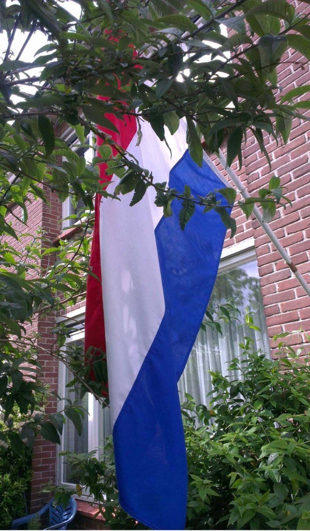 Bij de moeder van Pieter hangt de vlag uit  Foto: Sceenshot ONE FC © BredaVandaag