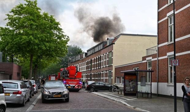 Inmiddels is de ergste rook verdwenen.  Foto: Tom van der Put © BredaVandaag