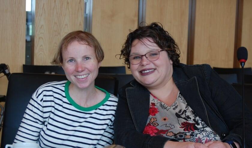 Esther en Mirjam zijn blij met de Ongehinderd-app.