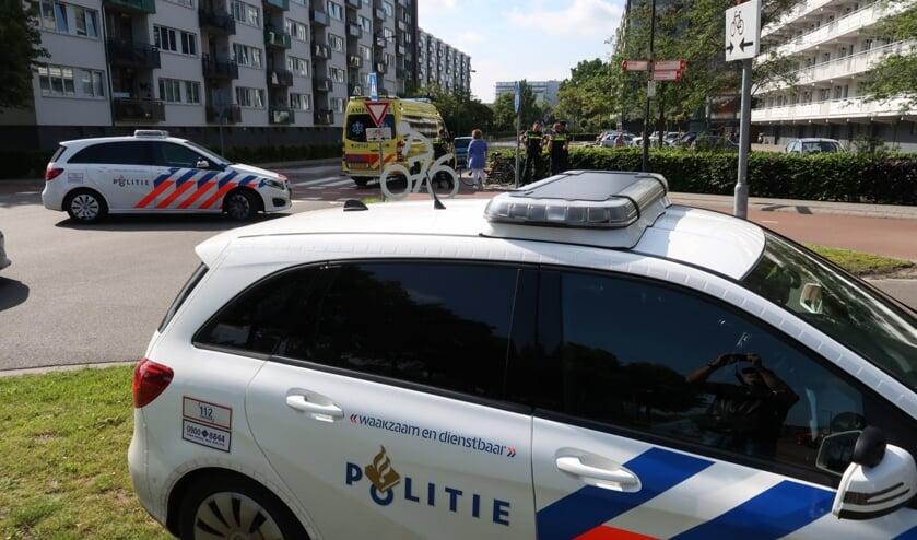 De politie en ambulance kwamen ter plekke.