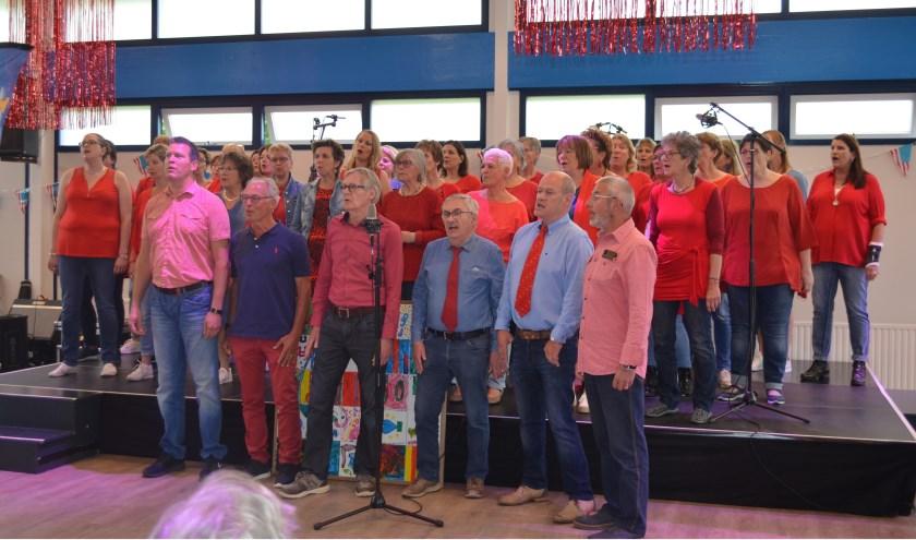 SKOOR zingt op tweede Pinksterdag 2019 in Wijkgebouw De Wieken.