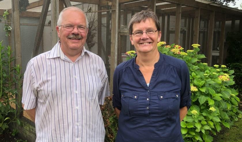 Karel en Willy hebben na ruim 40 jaar  meer tijd voor tuin, muziek en vogels.