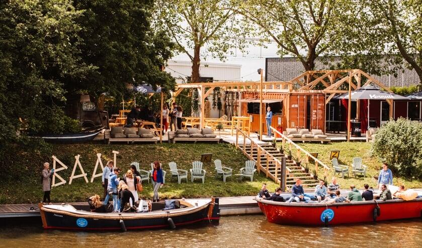 Breda krijgt met 'Baai' een festivalplek om aan het water te chillen.