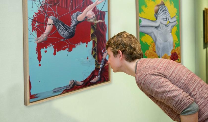 Halderbergse kunstenaars kunnen op warme belangstelling rekenen.