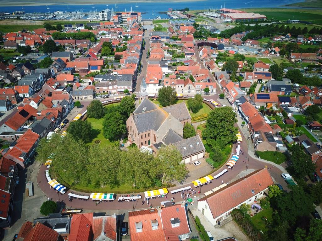 Luchtfoto van de Ring. FOTO GERT-JANL  © Internetbode