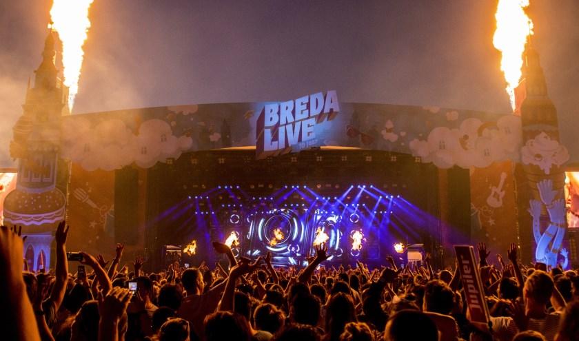 Hardwell tijdens Breda Live 2018.