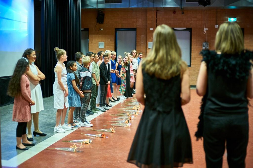 Het afscheidslied Foto: Corné de Weert © Internetbode