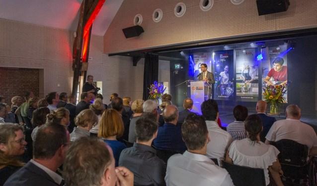 Speech door Kees van Strien, lid van de raad van bestuur Jorgen Janssens/StadsFotograaf Breda © BredaVandaag