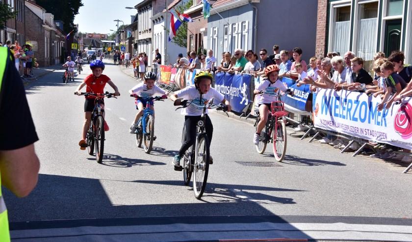 Dikke banden race Nispen in 2018.